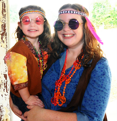 Ruby is wearing Peace Sign Hippie Beads Round Lennon Sunglasses in Pink Toddler/Child Hippie Boy Costume and Hippie Headband.  sc 1 st  Fresh Picks u2013 Costumes Ideas and Trends - Candy Apple Costumes & How to Dress Up Like Janis Joplin u2013 Fresh Picks u2013 Costumes Ideas and ...
