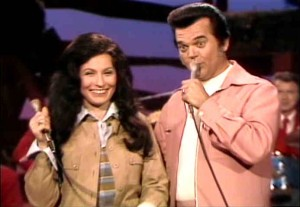 Conway and Loretta like leisure suits.