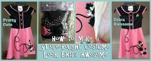 how to make a store-bought costume look awesome